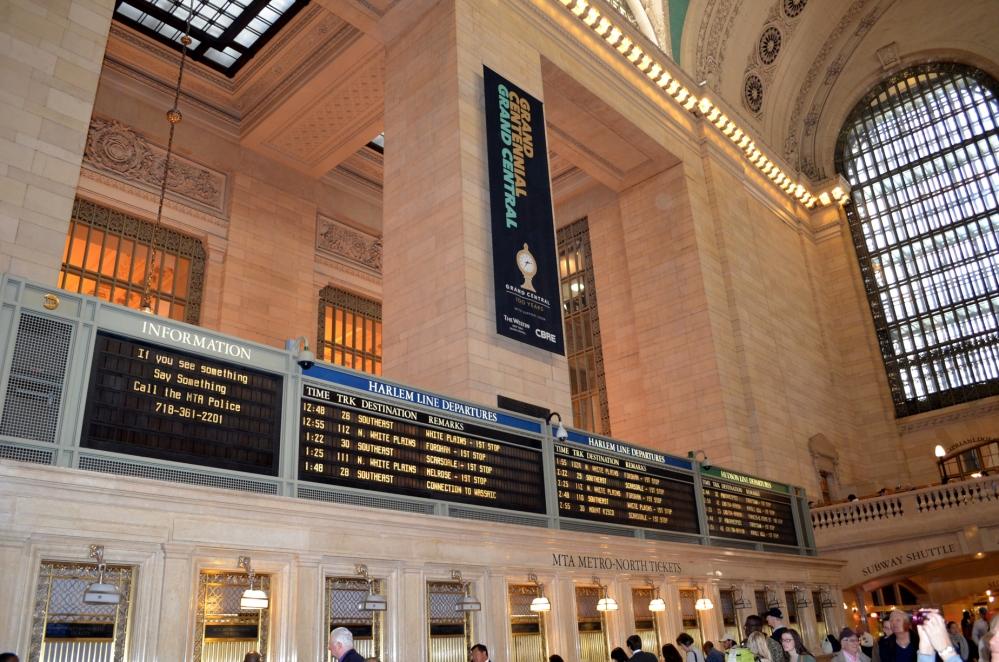 Walking through Grand Central Terminal (5/6)