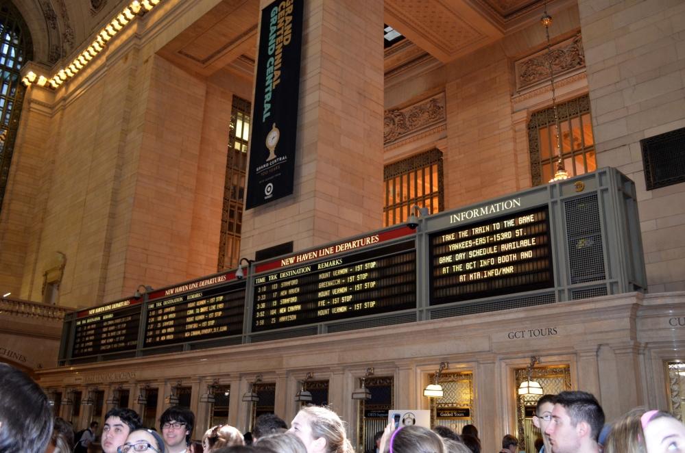 Walking through Grand Central Terminal (6/6)